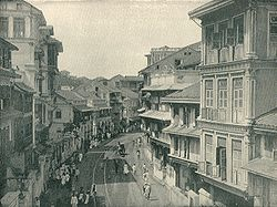 Kalbadevi Road - Glimpse of Mumbai circa 1890.