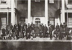 Delegates of the Charlottetown Conference on t...