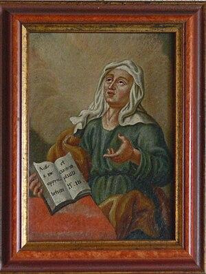 Hinterglasbild Psalm 119, 22 (Text) Hammerhof,...