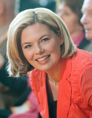 Deutsch: Julia Klöckner, Spitzenkandidatin der...