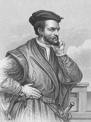 April: Jacques Cartier.