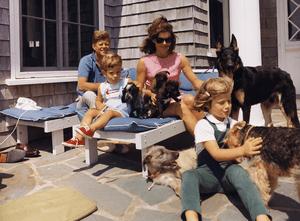 Hyannisport Weekend. President Kennedy, John F...