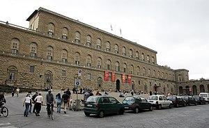 front of Pitti Palace