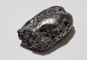 native Platinum nugget, locality Kondyor mine,...