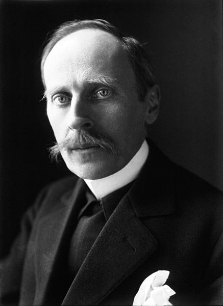 Romain Rolland, looking surprised by the camera