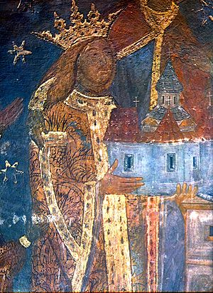 Ştefan cel Mare at Voroneţ monastery