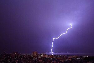 Lightning at Saitama