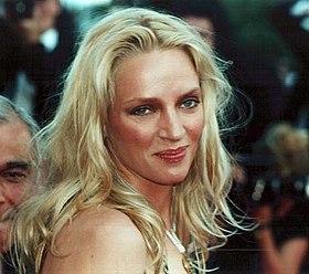 Uma Thurman En El Festival De Cine De Cannes En 2000