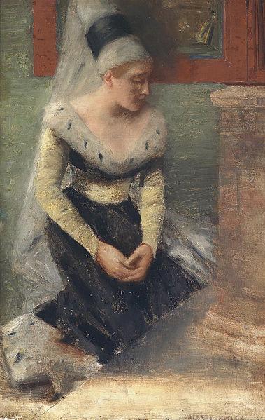 Albert von Keller: Burgfräulein