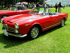 English: Subject:Alfa Romeo 2600 Spider Tourin...