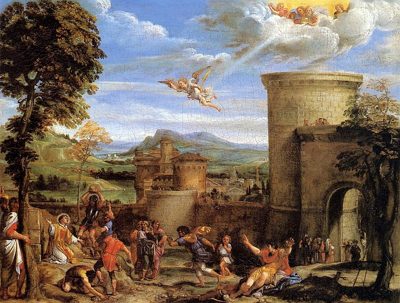 File:Annibale Carracci - The Martyrdom of St Stephen - WGA4450.jpg