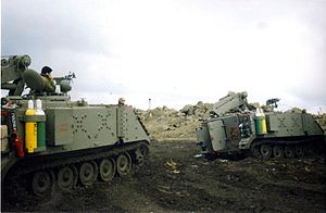 Armoured Recovery M-113 used by the IDF