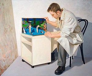 Artist and still life, 2007