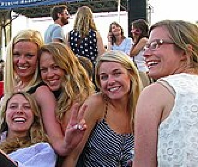 Blondes Of Different Shades At Wtmds First Thursday Series In Canton Baltimore Maryland United States In June 2014