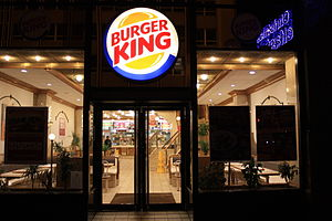 Burger King, Donegall Place, Belfast, Northern...