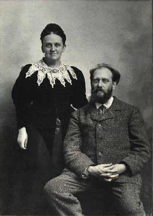 English: Carl Julius Aller (1845-1926), Danish...
