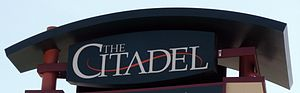 Sign for the Citadel Mall in Colorado Springs,...