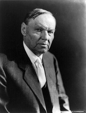 Clarence Darrow, American lawyer famous for th...