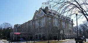 English: Elms Hotel in Excelsior Springs, Missouri