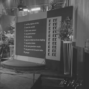 Eurovision 1958 scoreboard