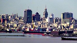 Landscape view of Fuerte Artigas, Montevideo, ...