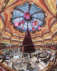 Galeries Lafayette store, Paris.Credit:  Benh LIEU SONG