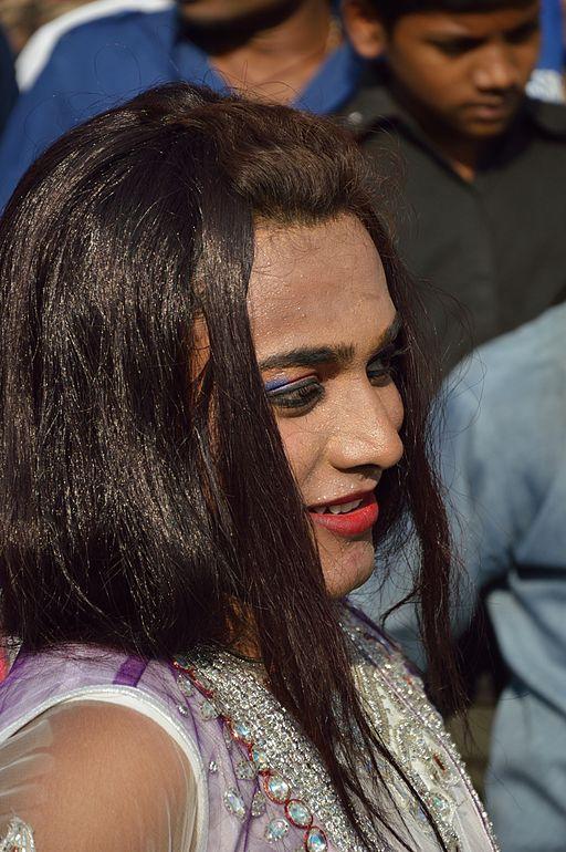 Hijra Participant - Chhath Festival - Howrah 2013-11-09 4184