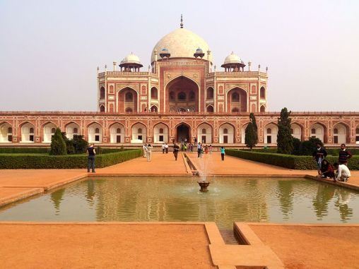 File:Humayun's Tomb at Delhi,.jpg