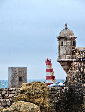 Lagos watchtower and lighthouse