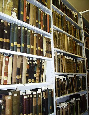 English: Muller Library - Rare Books collections
