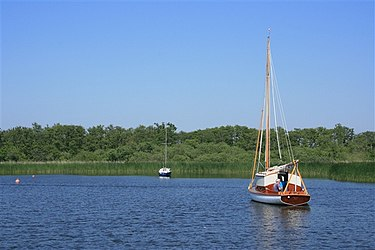 Moored on Barton Broad - geograph.org.uk - 690479.jpg