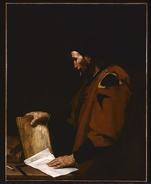Aristotle (1637), by Jusepe de Ribera, is with...