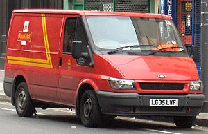 Royal Mail Ford Transit van (September 2006) C...