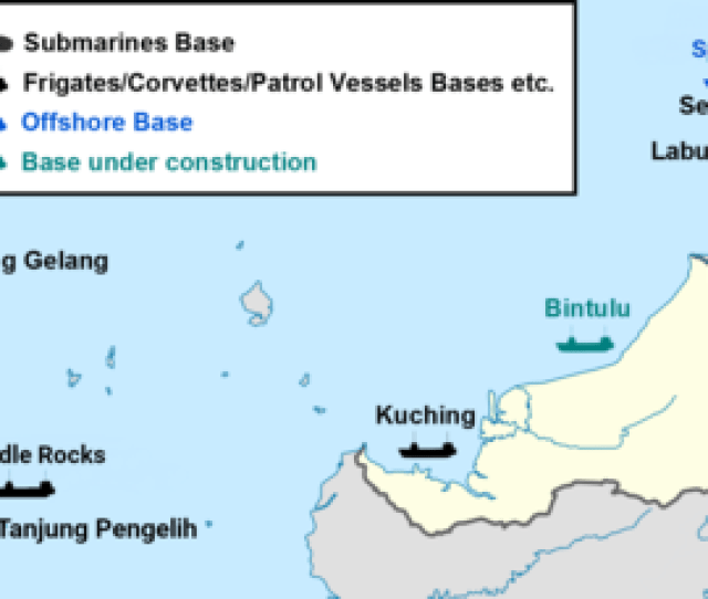 Bases Of The Royal Malaysian Navy