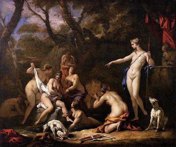 """""""Diana and Callisto"""" by Sebastiano Ricci - Gallerie dell'Accademia"""