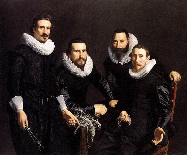 File:Syndics of Amsterdam 1627 by Thomas de Keyser.jpg