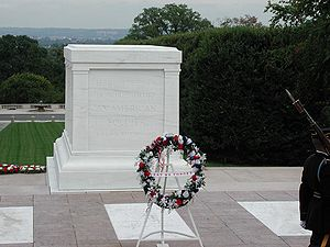 Tomb of the Unknowns, Arlington National Cemetery.