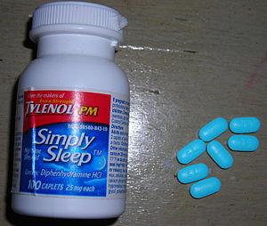 Tylenol simple sleep and pills