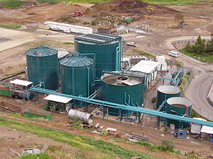 Photograph of anaerobic digesters, Tel-Aviv 20...