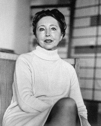 Portrait of Anais Nin taken in NYC in 70s by E...