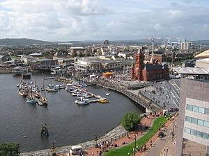 Cardiff Bay, Cardiff, Wales.