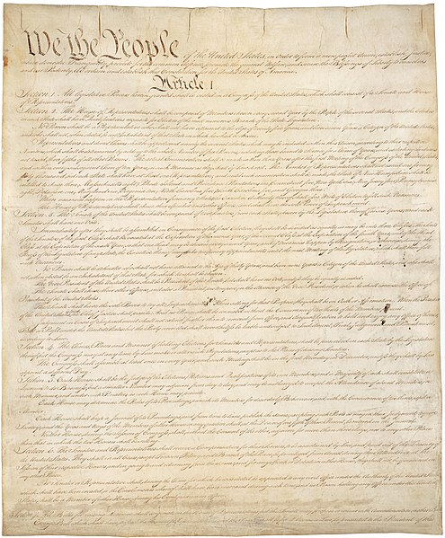 File:Constitution of the United States, page 1.jpg
