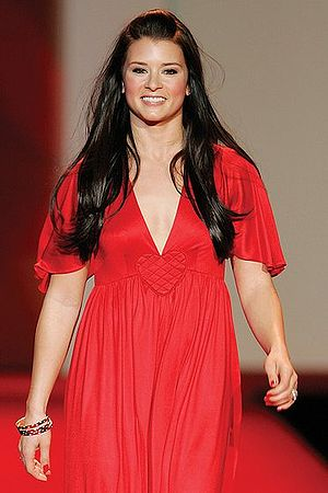 Danica Patrick at the 2007 Red Dress Collectio...