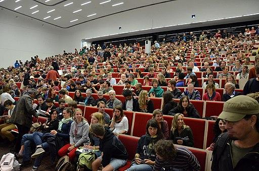 Degrowth Conference 2014 Photo by Eva Mahnke CC-BY-SA 13 Audimax Universität Leipzig