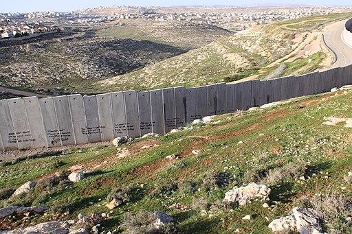 Israeli West-Bank barrier Ramallah