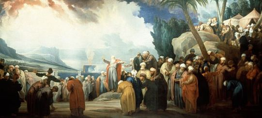 Moses elects the Council of Seventy Elders