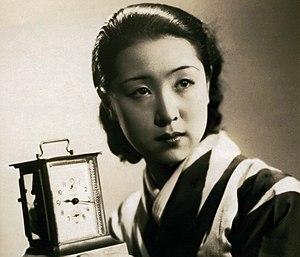 Kinuyo Tanaka in Jinsei no onimotsu (1935: dir...