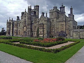 English: Margam Castle The imposing and repute...