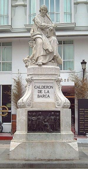 Monument to Pedro Calderón de la Barca (1600–1...