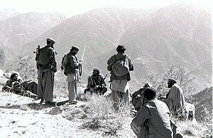 Mujahideen in Kunar, Afghanistan